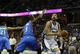 Marc y sus Grizzlies alejan a Durant de los Playoffs