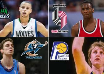 Los peores errores de los 30 equipos en el Draft NBA
