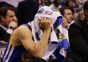 OKC va muy en serio: Durant (33) y Westbrook (30) aplastan a unos Warriors desconocidos