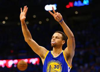 Los Warriors son inmortales: Thompson (41) y Curry (29) fuerzan el 7º ante los Thunder