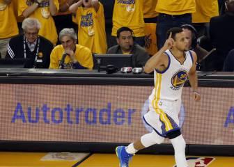 Curry enamoró... antes de iniciar la lluvia de triples