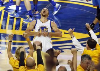 Para la historia: Curry (36+5+8) rompe a los Thunder y mete a los Warriors en las Finales
