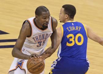 Durant: opciones de Warriors aumentan tras perder la final
