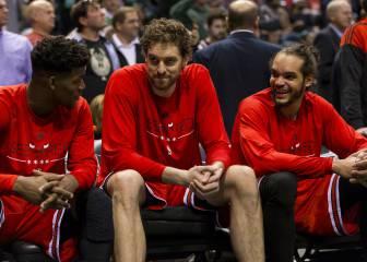 Los Chicago Bulls de Pau Gasol: cerrados por derribo