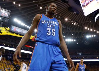 Durant y sus opciones: OKC, Warriors, Spurs, Heat...