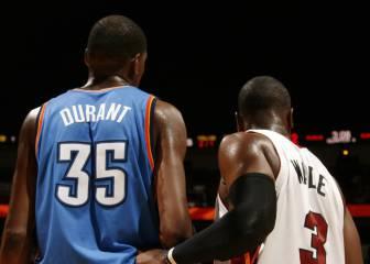 Los Lakers insisten con Durant; Wade podría dejar Miami