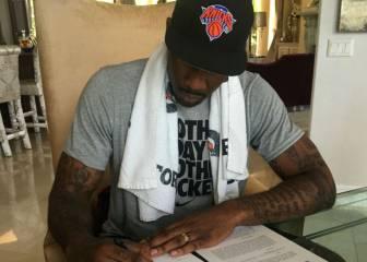 Stoudemire firma un día con los Knicks y se retira de la NBA