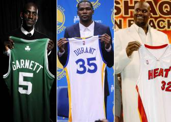15 cambios que han marcado la NBA: LeBron, Durant, Shaq...