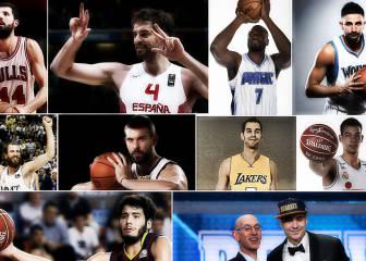 Todo sobre los 10 españoles que jugarán en la NBA 16-17