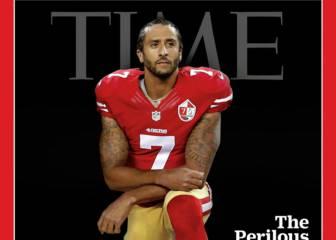 El gesto de Colin Kaepernick ocupa la portada de 'Time'