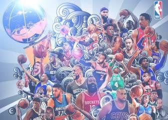 Las plantillas de los 30 equipos NBA para el nuevo curso