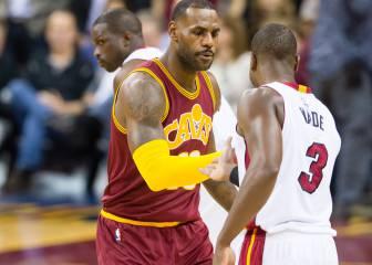 Wade: 'Yo me sacrifiqué mucho más que LeBron en Miami'