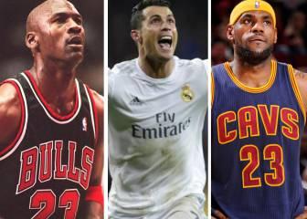 Forbes: Michael Jordan el más rico, Cristiano y Messi en la lista