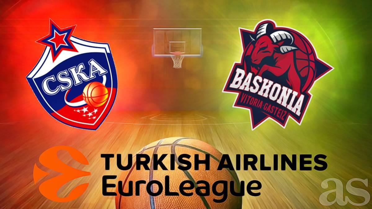 Cska baskonia en directo online cuartos de final de la for Euroliga cuartos de final