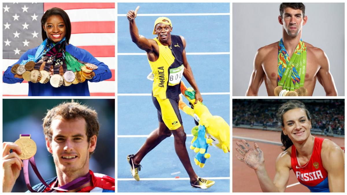 los 5 deportistas que se convirtieron en leyendas en 2016