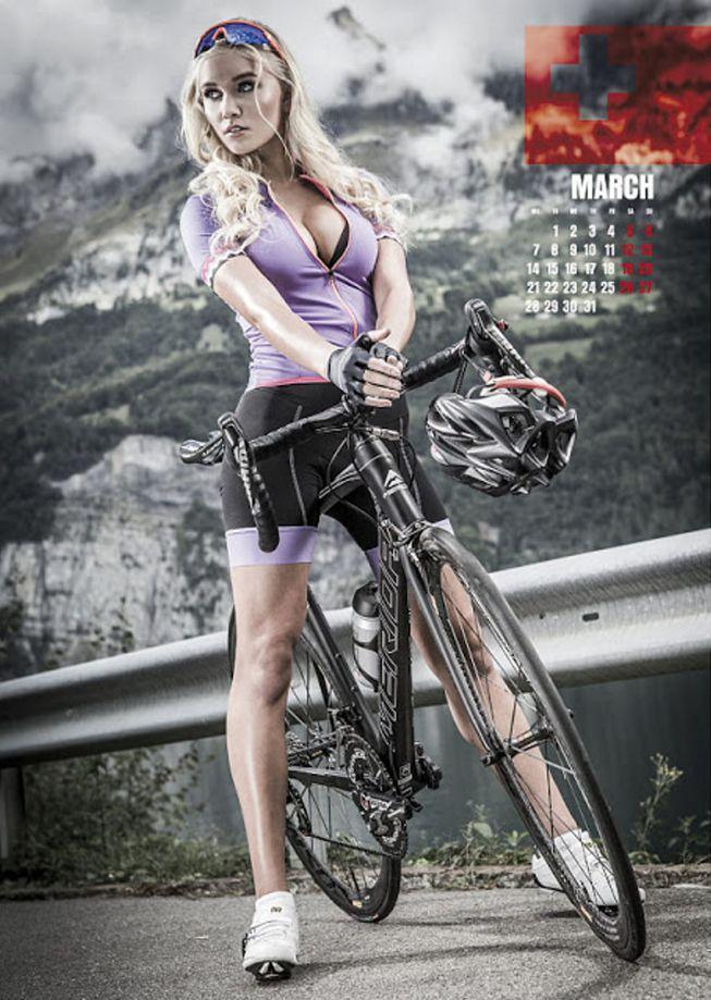 Ciclismo: Descubre el calendario 2016 más sexy del