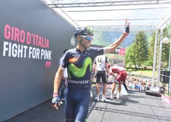 """Valverde: """"Queda el podio y aspiro a lo máximo"""""""