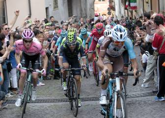 Giro de Italia 2016 en directo: Etapa 19 Pinerolo - Risoul