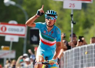 Chaves viste de rosa y Nibali saca a Valverde del podio