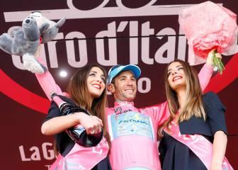 Nibali gana su segundo Giro y Valverde se sube al podio