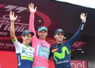 Nibali gana su 4ª grande con Chaves y Valverde en el podio