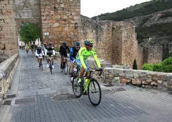 La lluvia y el frío marcan la Marcha Alberto Contador