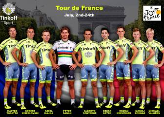 Contador ya tiene escuderos para el Tour: Majka, Kreuziger...