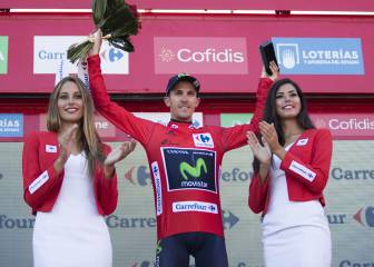 Rubén Fernández se viste de rojo y Contador vuelve a ceder