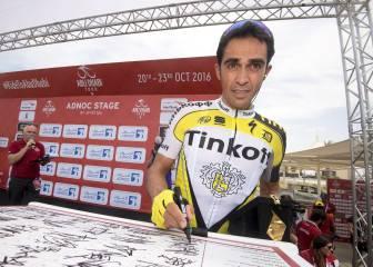 Contador: 'Las sensaciones no fueron malas, pero faltó ritmo'