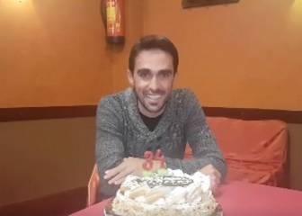 Contador celebra su 34 cumpleaños con nuevo 'look'