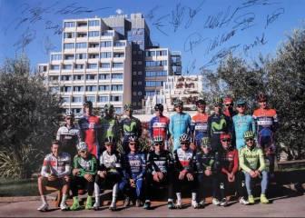El Bahrain-Merida de Nibali ya cuenta con 28 corredores
