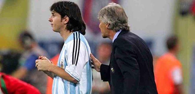 Pékerman y sus siete opciones para marcar a Lionel Messi