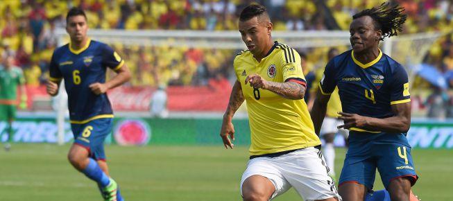 Resultado de imagen para colombia vs ecuador 2016