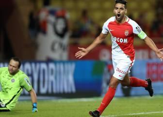 Falcao marca en su regreso y Mónaco golea a Montpellier