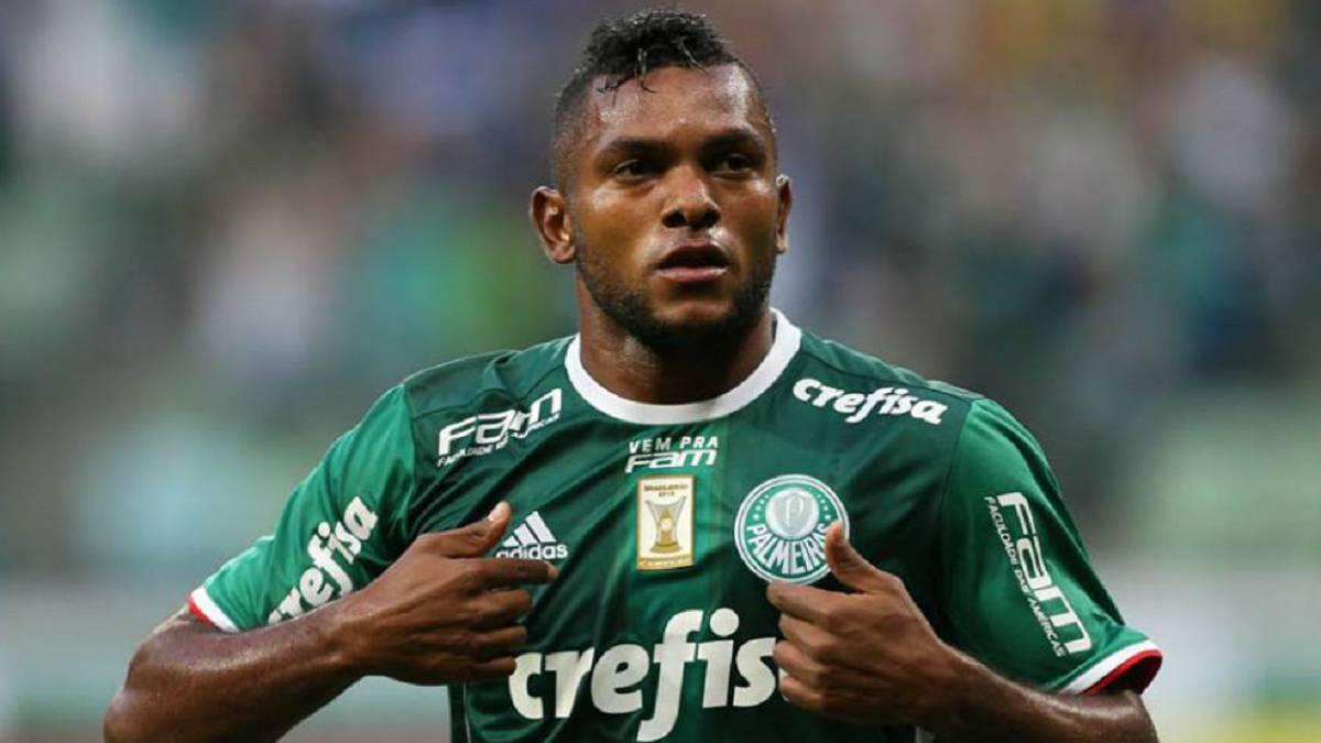 Borja: 24 minutos ante Sao Paulo y pase gol a Guerra - AS Colombia