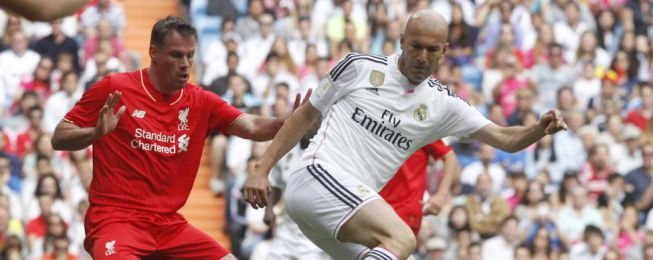 Madrid legends overcome Liverpool in charity game