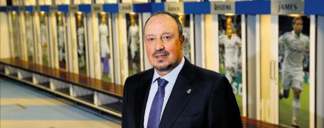 Rafa Benítez is only thinking about a Madrid with Ramos