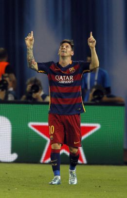 Leo Messi becomes a father for the second time