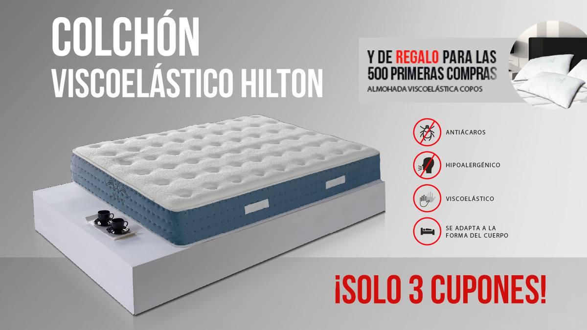 Colchón viscoelástico Hilton   AS.com