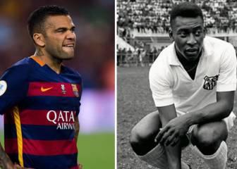 Alves mocks Pelé