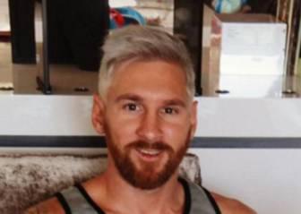 Platinum blonde look for Messi ahead of 2016/17 pre-season