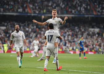Kroos fires Madrid to nervy win over impressive Celta