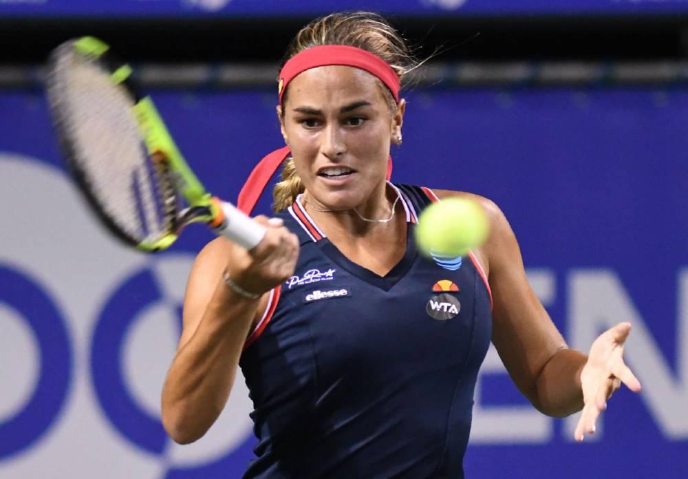Tennis Monica Puig Back To Winning Ways In Rainy Tokyo As Com