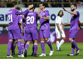 Real Madrid thump Cultural Leonesa 7-1 in the Copa del Rey