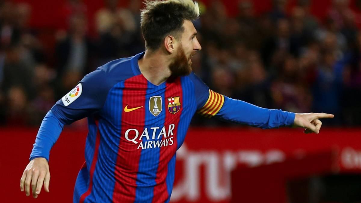 Messi: Barcelona star continues fantastic Sevilla goal ...