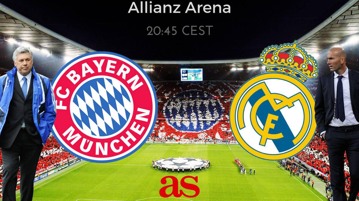 real madrid bayern free tv