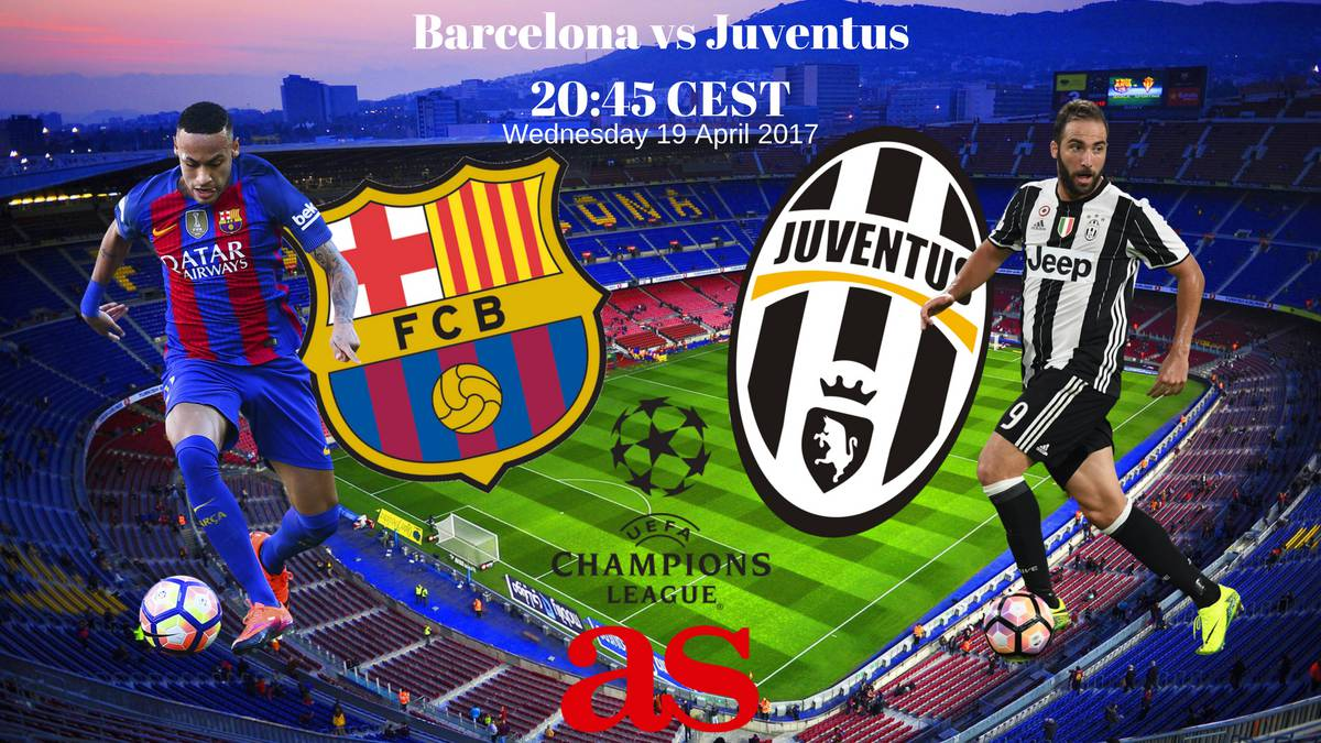 Champions League | Barcelona vs Juventus: how and where to ...