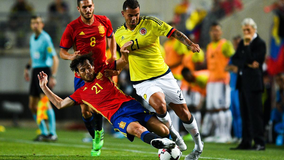 Spain v Colombia International friendly: Match report ...