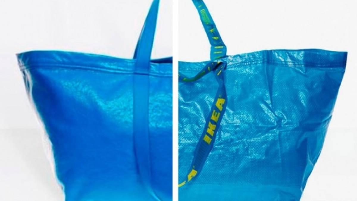 el bolso de euros que es igual que la bolsa azul de ikea. Black Bedroom Furniture Sets. Home Design Ideas