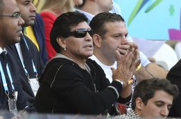 """Diego Maradona cree que ni Francia ni Alemania son """"cucos"""""""